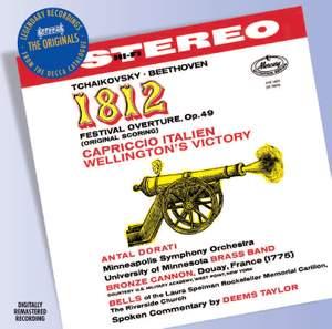 Tchaikovsky: 1812 Overture & Capriccio Italian Product Image