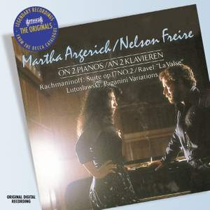 Martha Argerich & Nelson Freire on 2 Pianos Product Image