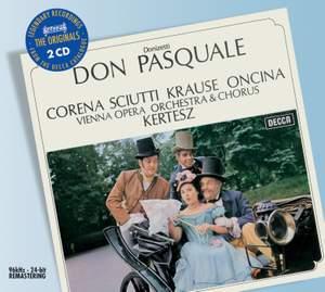 Donizetti: Don Pasquale, etc.