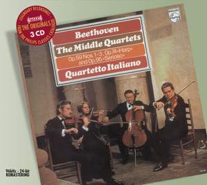 Beethoven - Middle String Quartets Product Image
