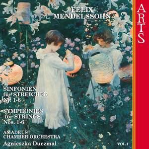Mendelssohn Symphonies for Strings Nos. 1-6