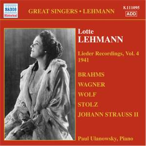 Great Singers - Lehmann Product Image