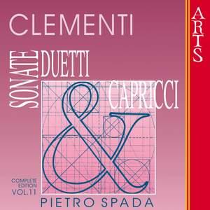 Clementi: Sonate, Duetti & Capricci - Vol. 11