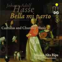 Hasse: Cantatas and Chamber Music