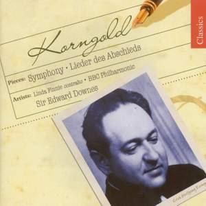 Korngold: Abschiedslieder & Symphony in F sharp major