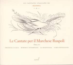 Handel - Italian Cantatas Volume 2 - Cantatas for Marchese Ruspoli