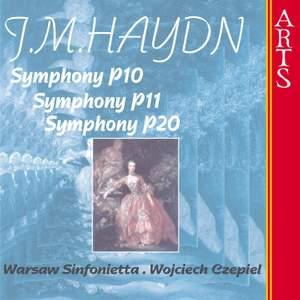 Haydn, M: Symphony No. 18 in C major, MH 188, P. 10, etc.
