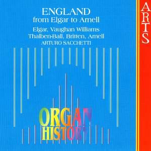 Organ History - England from Elgar to Arnell