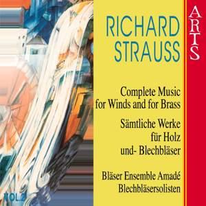 Strauss - Complete Music for Wind & Brass Vol. 2