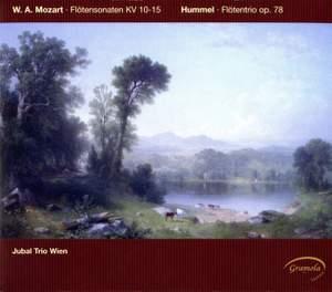Mozart: Flute Sonatas KV10-15 and Hummel: Adagio, Variations and Rondo