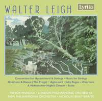 Walter Leigh: A Midsummer Night's Dream Suite, Concertino for harpsichord & strings & other orchestral works