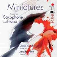 Miniatures - Music for Saxophone and Piano