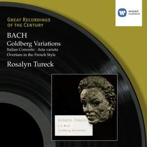 Bach, J S: Goldberg Variations, BWV988, etc.