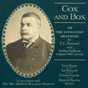 Sullivan, A: Cox and Box