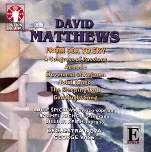 David Matthews - From Sea to Sky