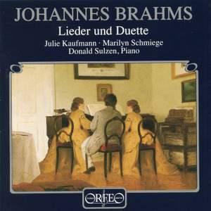 Brahms - Lieder und Duette