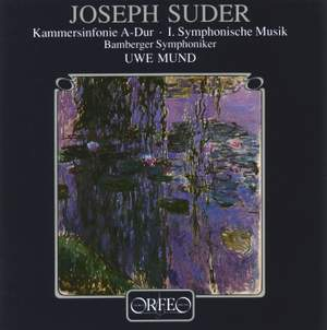Suder: Chamber Symphony & Symphony Music for organ & orchestra