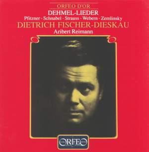 Dehmel-Lieder Product Image