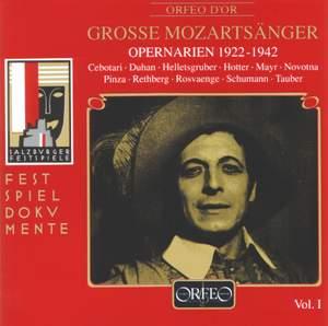 Große Mozartsänger Vol. 1 Product Image