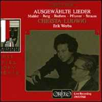 Christa Ludwig - Selected Lieder