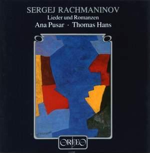 Rachmaninov - Lieder und Romanzen