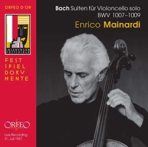 JS Bach Cello Suites Nos. 1 - 3