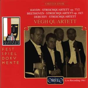 Haydn, Beethoven & Debussy: String Quartets