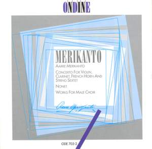 Merikanto, A: Concerto for violin, clarinet, French horn and string sextet (Schott Concerto) (1924), etc. Product Image