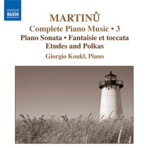 Martinu - Complete Piano Music Volume 3