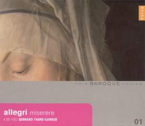 Baroque Voices 1 - Allegri: Miserere, Messe, Motets