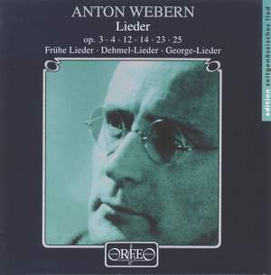 Anton Webern - Lieder