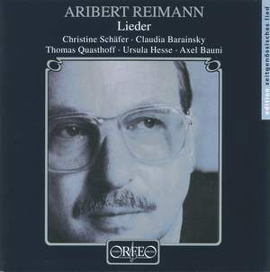 Aribert Reimann - Lieder