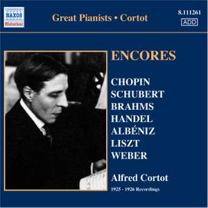 Alfred Cortot - Encores Product Image