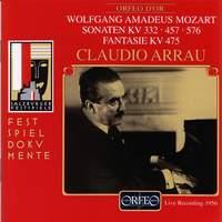 Mozart: Piano Sonatas Nos. 12, 14 & 18 and Fantasia in C minor