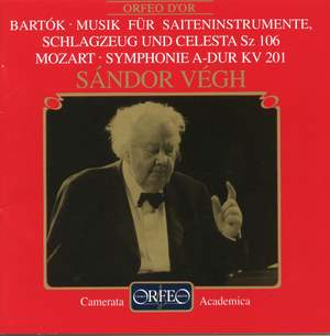 Mozart: Symphony No. 29 & Bartók: Music for Strings, Percussion & Celesta Product Image