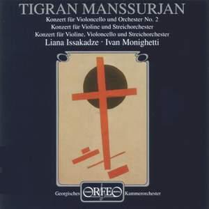 Mansurian: Cello Concerto No. 2, etc.