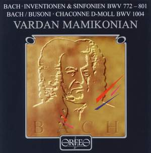 Bach: Two-part Inventions, Three-part Inventions
