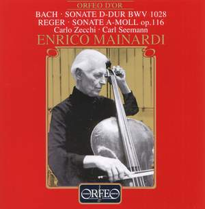 Bach: Viola da gamba Sonata No. 2 & Reger: Cello Sonata No. 4