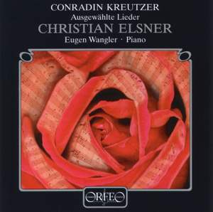 Conradin Kreutzer: Selected Lieder