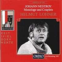 Johann Nestroy - Monologe und Couplets