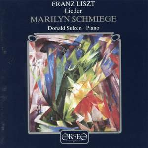 Franz Liszt - Lieder Product Image