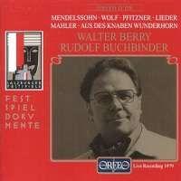 Walter Berry - Lieder