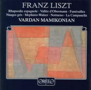 Liszt: Rhapsodie espagnole, Vallée d'Obermann, Funérailles & other piano works