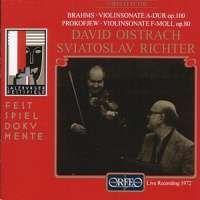 Brahms & Prokofiev: Violin Sonatas