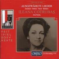 Ileana Cotrubas - Lieder