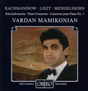Rachmaninov, Liszt & Mendelssohn: Piano Concertos