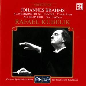 Brahms: Piano Concerto No. 1 & Alto Rhapsody