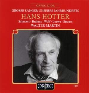 Hans Hotter - Lieder