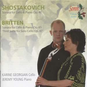 Britten & Shostakovich - Cello Sonatas