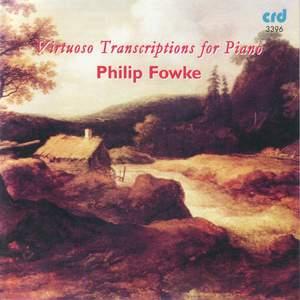 Virtuoso Transcriptions for Piano